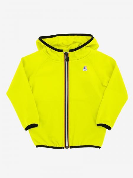 K-Way Sweatshirt mit Kapuze und Reißverschluss