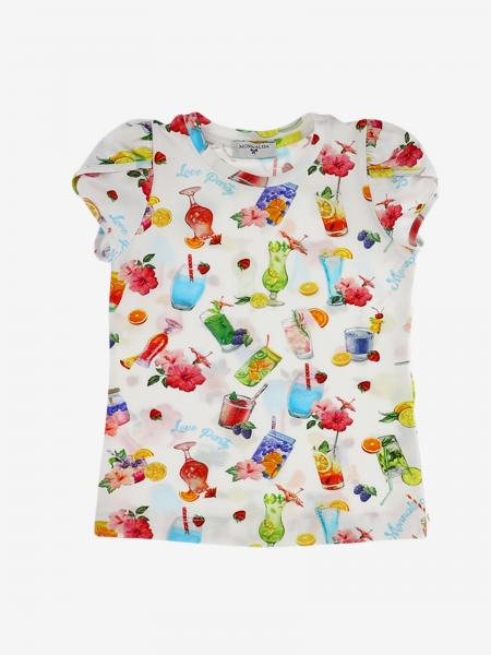 T-shirt Monnalisa con stampe all over