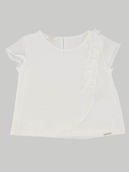 Liu Jo top with ruffles