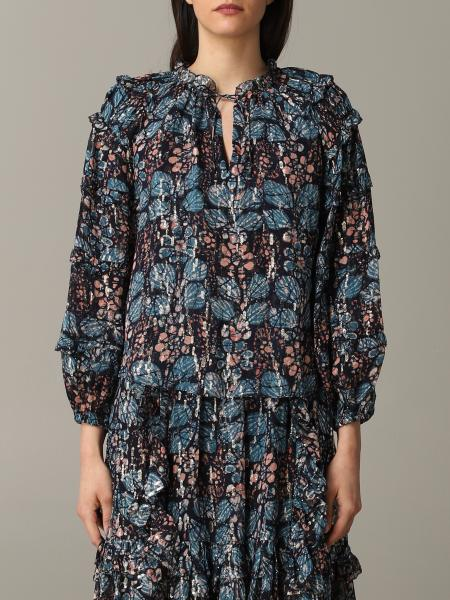 Ulla Johnson sweater with floral pattern