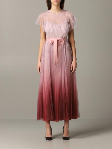 Red Valentino dress with shaded effect