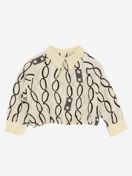 Elisabetta Franchi shirt with chain print