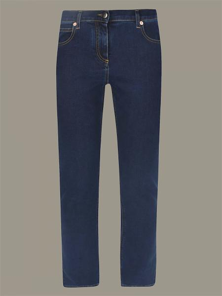 Regular-waisted Valentino jeans