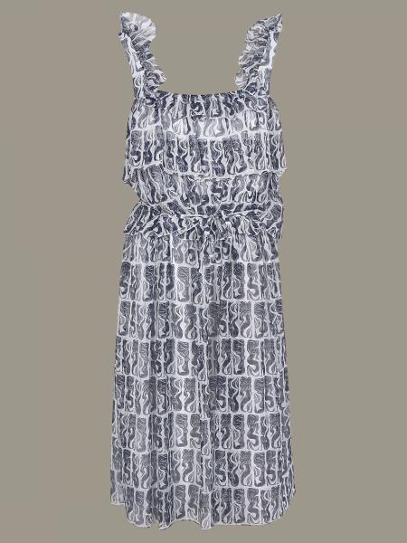 Kenzo 美人鱼印花连衣裙