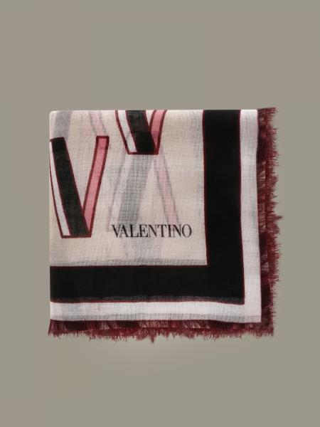 Valentino Garavani scarf with all over logo