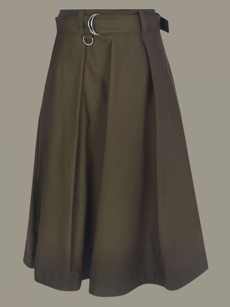 Msgm 配腰带宽松半身裙