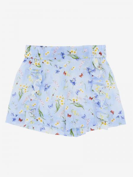 Pantalons courts enfant Monnalisa
