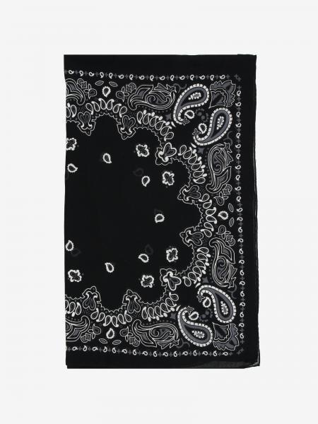 Destin scarf with bandana print