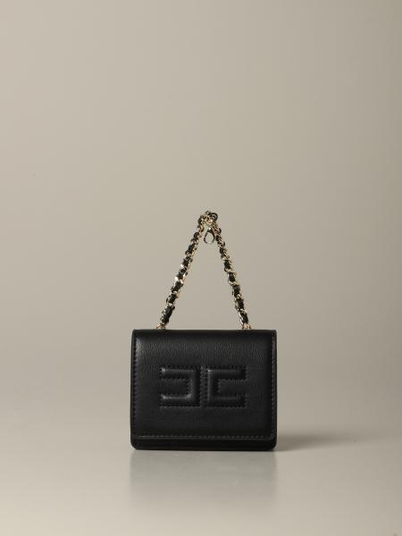 Elisabetta Franchi pouch bag with embossed logo