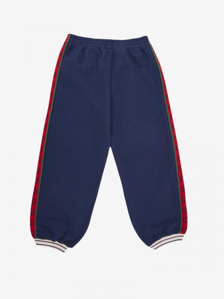 Gucci jogging trousers with logoed bands