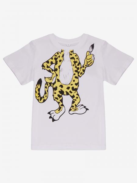Stella Mccartney t-shirt with leopard print