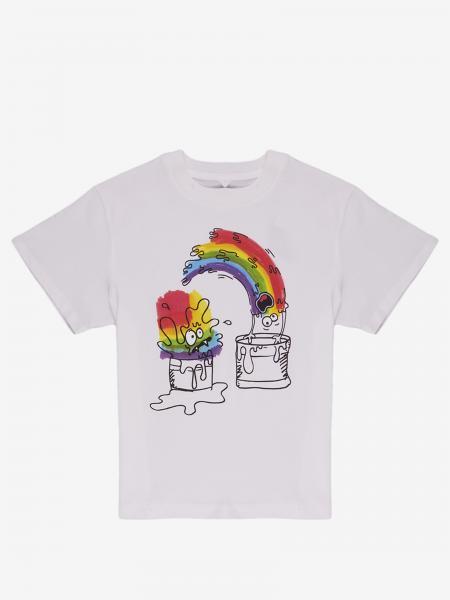 Stella Mccartney t-shirt with rainbow print