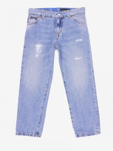 Dolce & Gabbana denim jeans with breaks