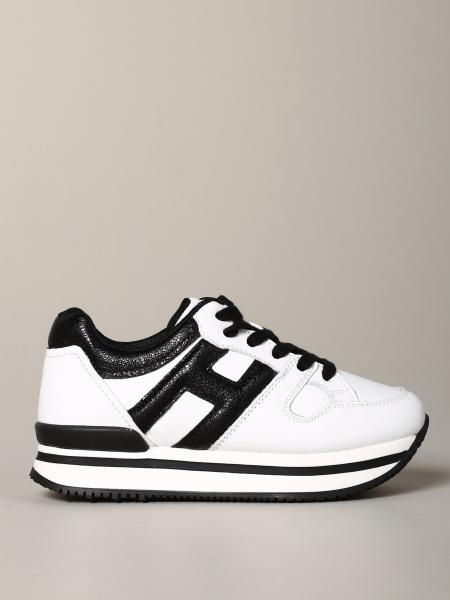 Sneakers Hogan in pelle bicolor