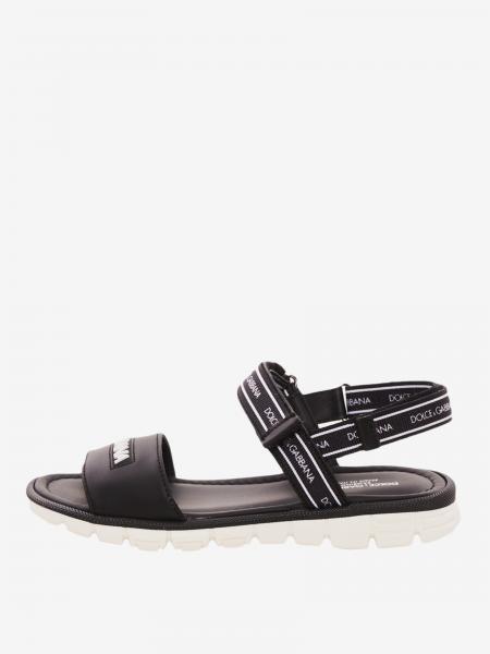 Sandalo Dolce & Gabbana con logo