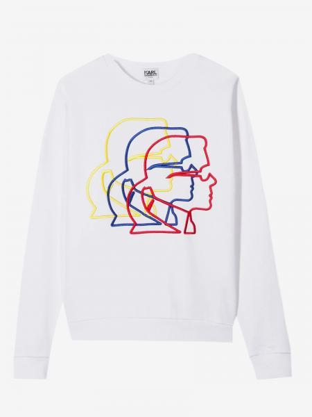 Karl Lagerfeld Kids crewneck sweatshirt with Karl