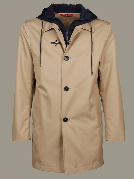 Fay coat with hood and Fay frogs