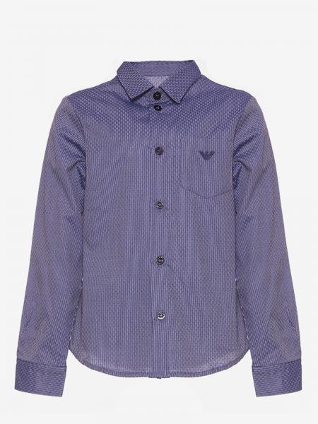 Camicia Emporio Armani con logo aquila
