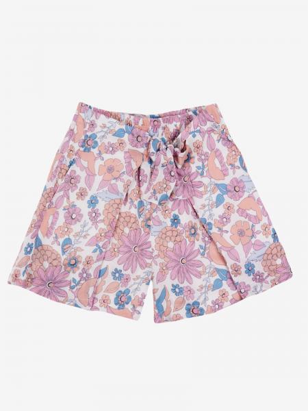 Pantaloncino Chloé a fantasia floreale