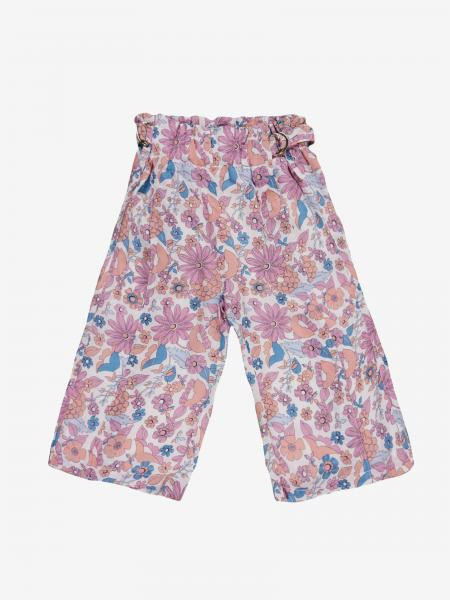Pantalone Chloé a fantasia floreale
