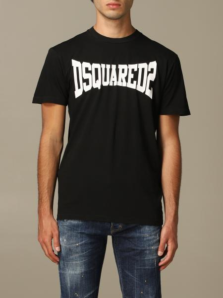 T-shirt Dsquared2 basic con logo