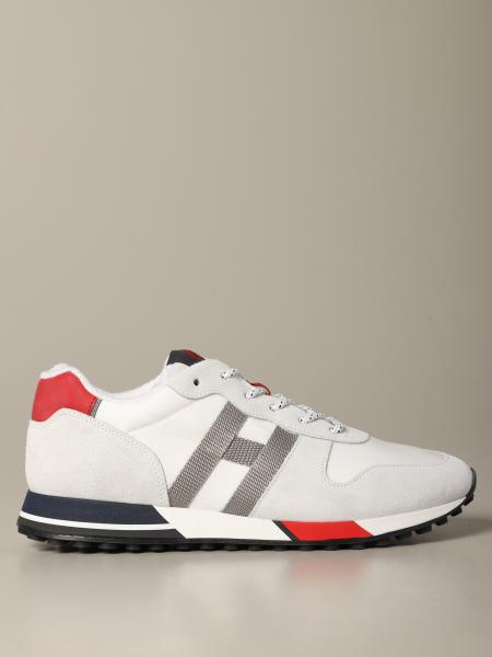 Hogan sneakers in leather and suede