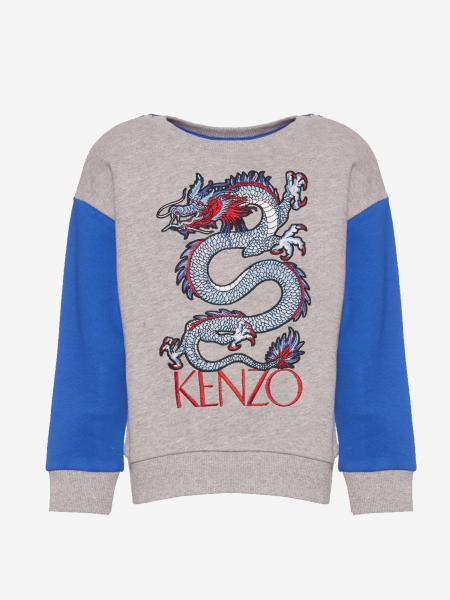 Kenzo Junior sweatshirt with dragon print