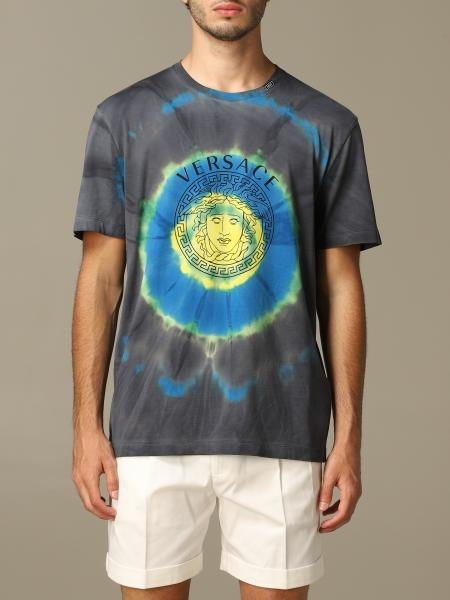 Versace t-shirt printed with logo