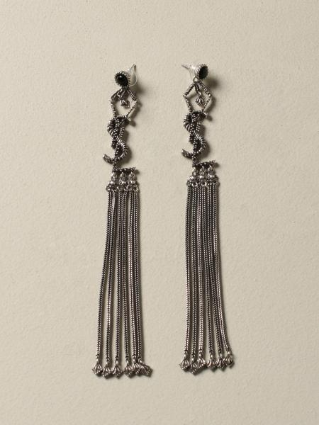 Saint Laurent earrings with metal fringes