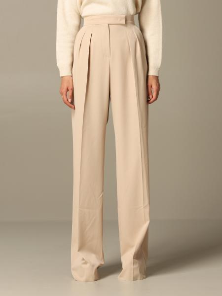 Pantalone Max Mara ampio a vita alta