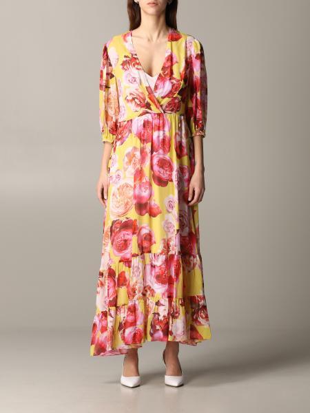 Pinko 花卉印花连衣裙
