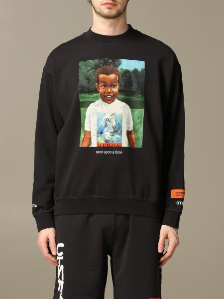 Sweatshirt homme Heron Preston