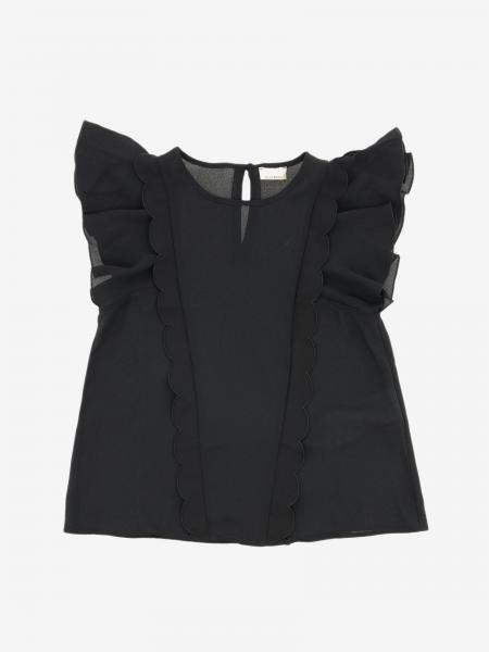 Elisabetta Franchi top with ruffles
