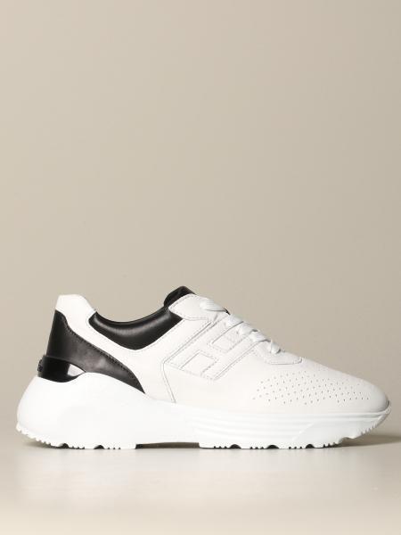 Hogan bicolor leather sneakers