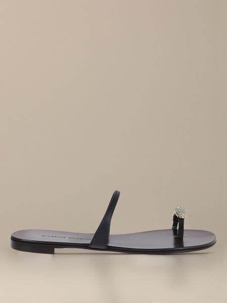 Giuseppe Zanotti Design leather sandal