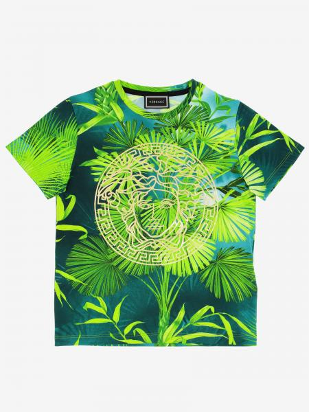 Versace Young t-shirt with jungle print