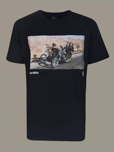 T-shirt Marcelo Burlon à manches courtes et imprimé