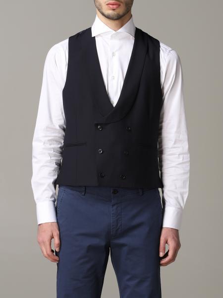 Suit vest men Lardini