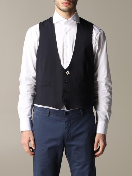 Suit vest men Lardini