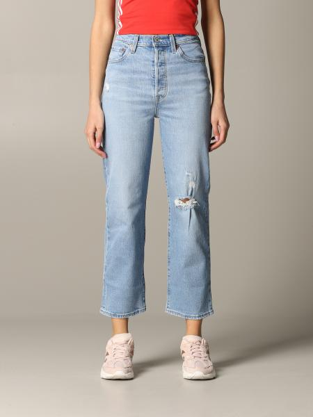 Jeans levi's high-waisted jeans with breaks Levi's - Giglio.com