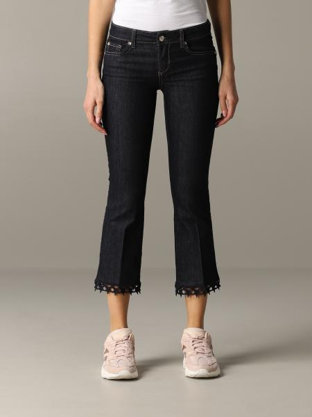 Liu Jo jeans with embroidered edges
