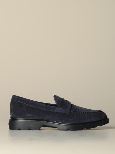 Hogan suede moccasin with sleeper
