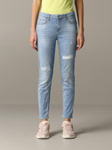Liu Jo denim jeans with breaks