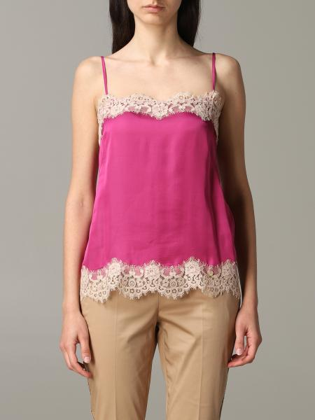 Liu Jo top with lace edges