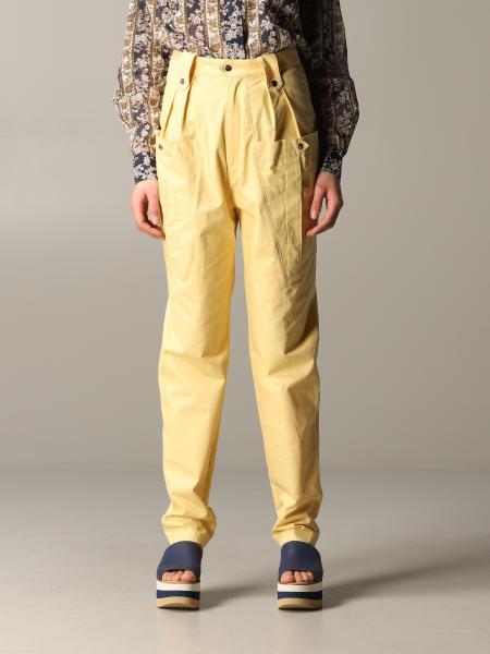 Pantalone Isabel Marant con maxi tasche