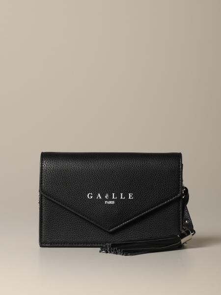 Borsa a tracolla Gaelle Bonheur mini con logo