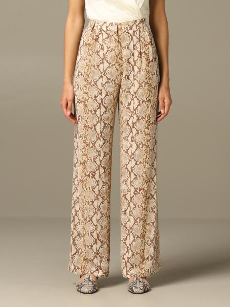 Michael Michael Kors trousers with python pattern