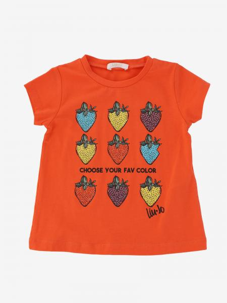 Liu Jo t-shirt with strawberries and rhinestones
