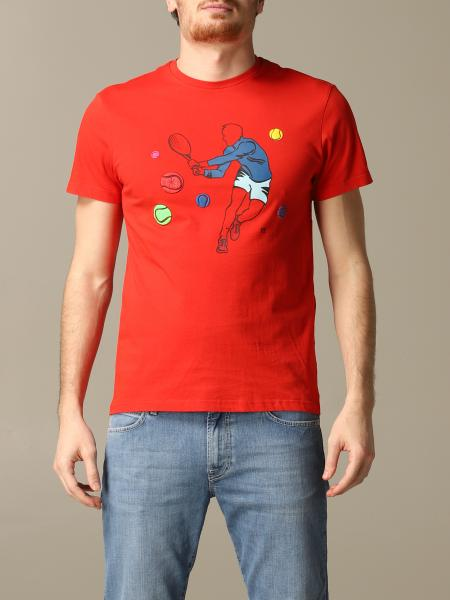 T-shirt Manuel Ritz con stampa tennis