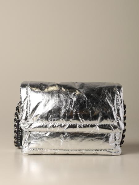 Borsa a spalla Marc Jacobs in nylon metallizzato